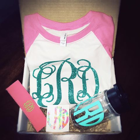 Kid's Monthly Monogram Surprise Box