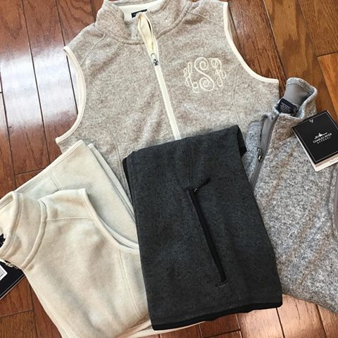 Heathered Fleece Vest