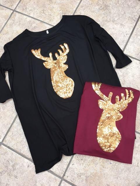 Black Deer Dress
