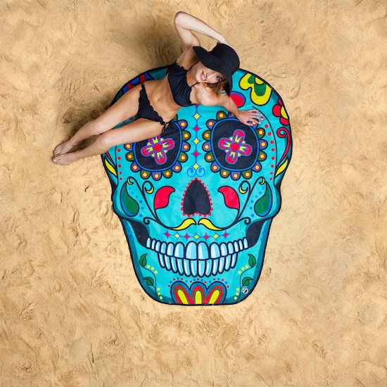 Suga Skull Beach Blanket