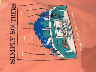 Simply Southern Short Sleeve T-shirt-Back Porch View