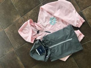 1/4 Zip Rain Jacket