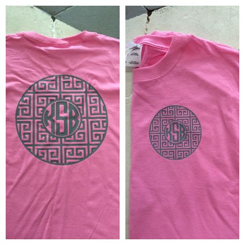 Greek Key Monogrammed T-shirt