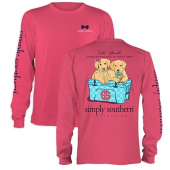 Simply Southern-Girls in Pearls Long Sleeve