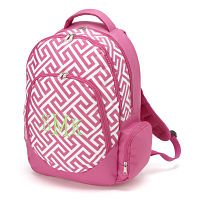 Backpack- Pink/white
