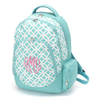 Backpack-Bright Blue Circle