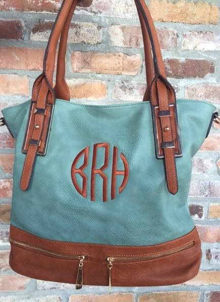 Monogrammed Remington Tote