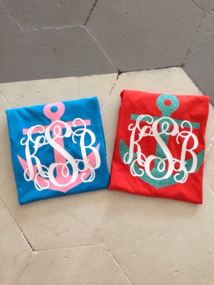Large Anchor Monogram T-shirt
