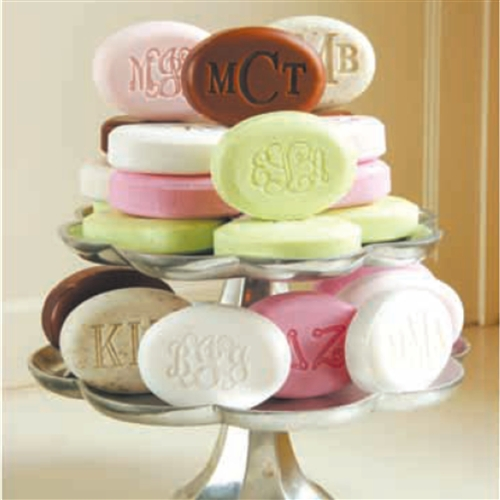 Monogrammed Soap-Pack of three bars