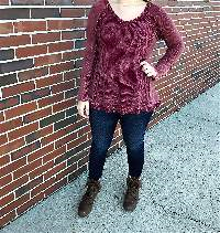 Garnet Thermal Tunic